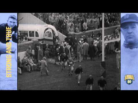 The Intensity of Frank Leahy - 125 Years of Notre Dame Football - Moment #017