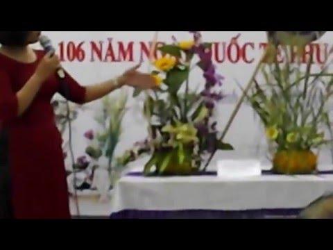 Hội thi cắm hoa nghệ thuật 8-3-2016