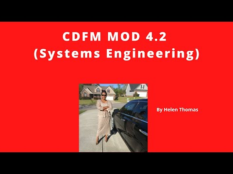 CDFM Module 4 2 Systems Engineering
