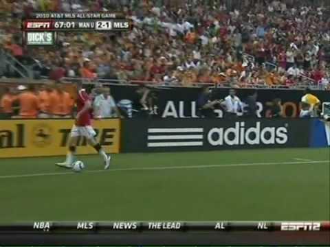 MLS All Stars vs Manchester United  Chicharito Hern√°ndez 2010.mp4