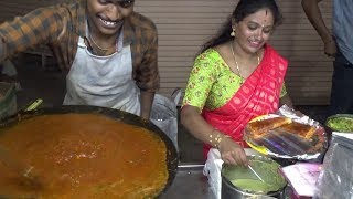 Happy Smily South Indian Family Selling Butter Pav Bhaji | Only 50 Rs Per Plate