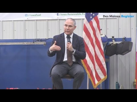 In Iowa, EPA's Scott Pruitt says we 'should use the resources God has provided us with'