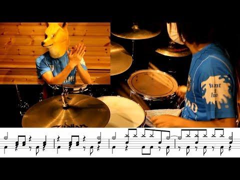 (pitch+1)明日も/SHISHAMO Ashitamo(ドラムカバー Drum Cover)