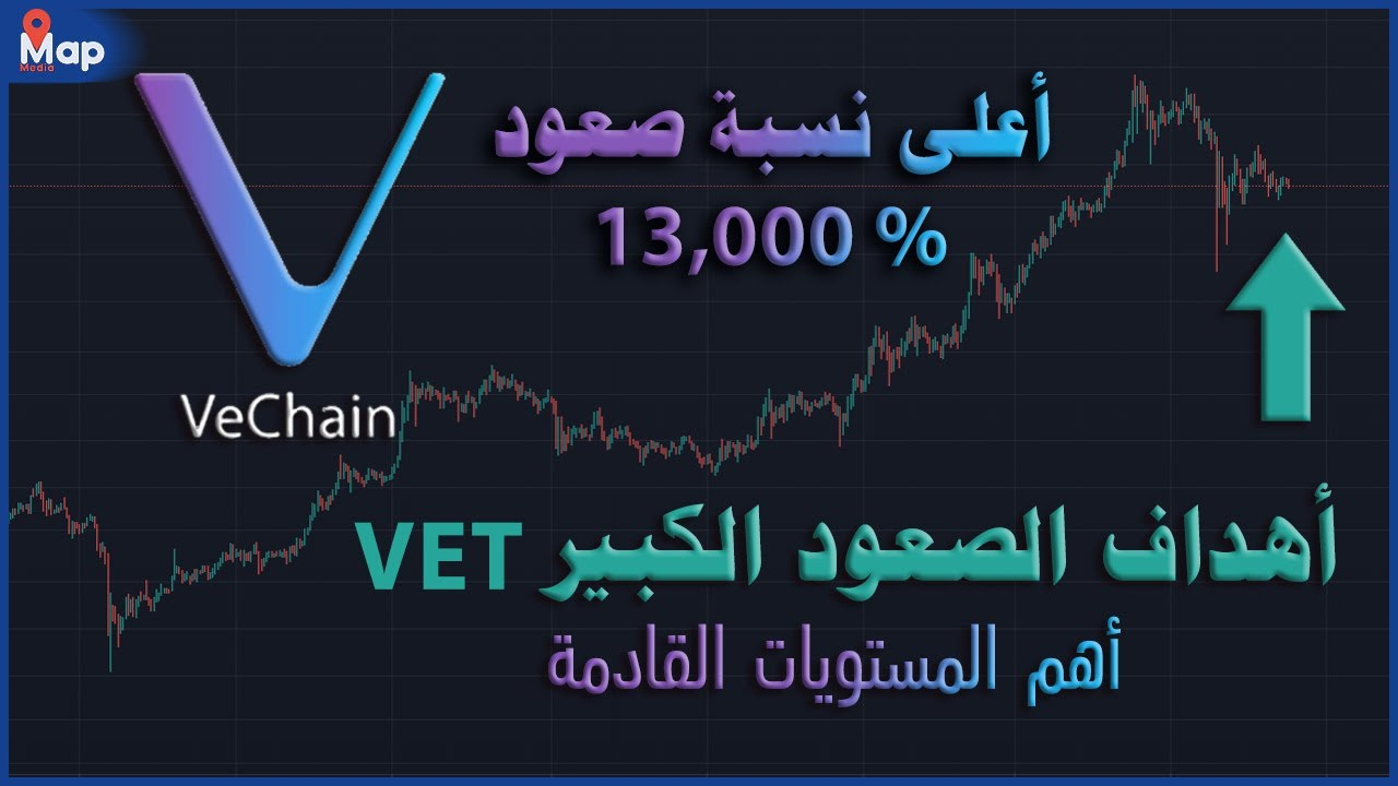 عملة VET اعلى نسبة صعود حتى الان و اهم الاهداف القادمة