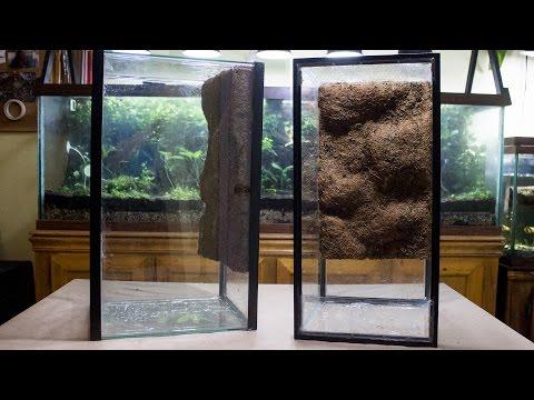 DIY Naturalistic Coco Fiber Liner Background (Aquarium to Viv Conversion pt.2B)