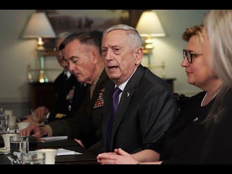 ماتيس: واشنطن ستوسع الحرب على داعش في سوريا  - نشر قبل 4 ساعة