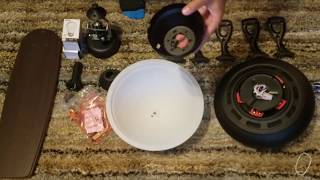 How To Install/Remove A Harbor Breeze Ceiling Fan