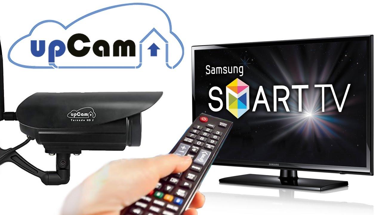 upCam IP Kamera auf Smart TV anzeigen - YouTube