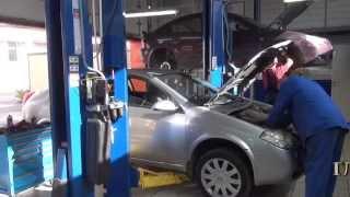 Катализатор на авто Nissan Primera. Катализатор на авто Nissan Primera ремонт и замена