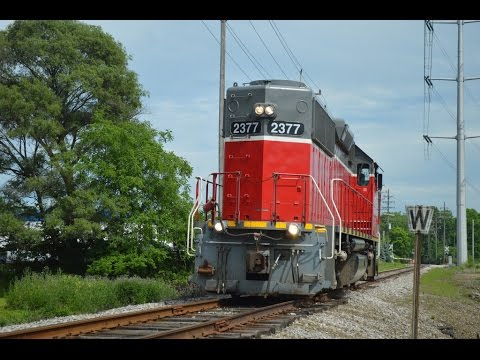 Cleveland Commercial railroad Light Power Move Bedford Ohio.