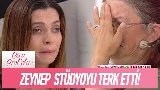 Zeynep stüdyoyu terk etti! - Esra Erol'da 20 Eylül 2018