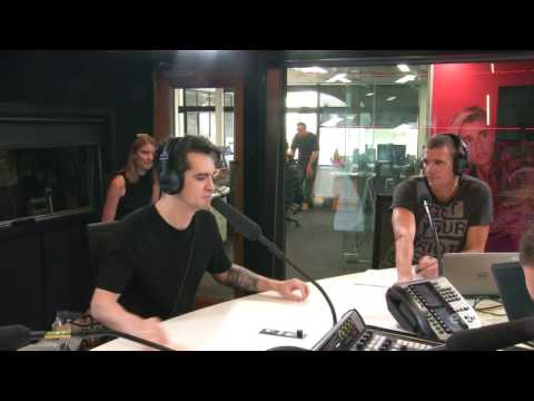 Brendon Urie from Panic at the Disco pranks New Zealand radio station