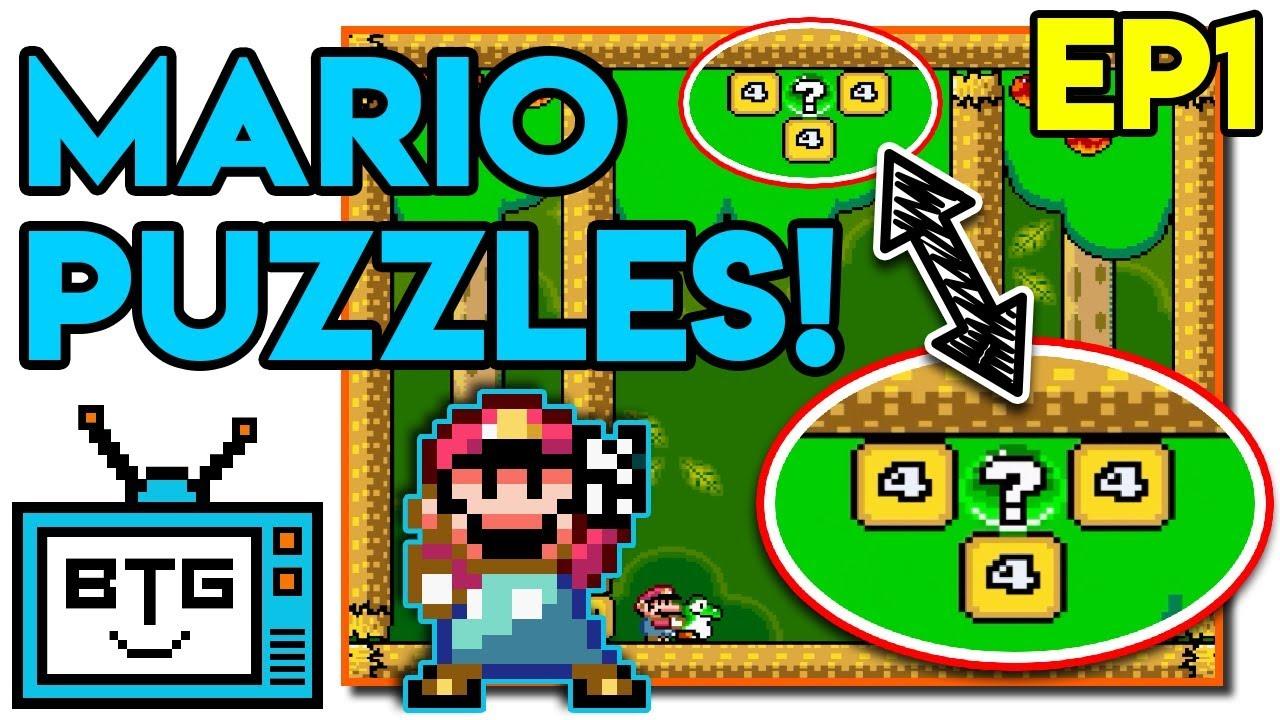 1 Screen Puzzles! | Super Mario Logic | Mario World Rom Hack [Part 1]