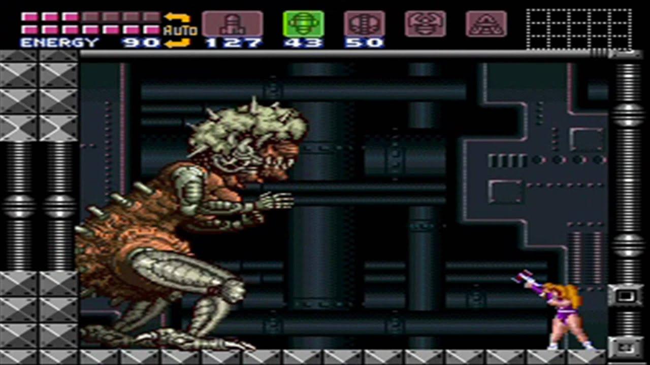 Super Metroid (Justin Bailey sprite hack) 100% Playthrough - Part 12