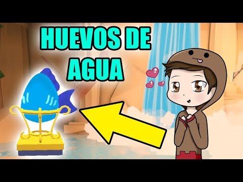 ¡¡MASCOTAS DE AGUA EN LA CASCADA DE ADOPT ME ROBLOX!! HUEVOS DE AGUA