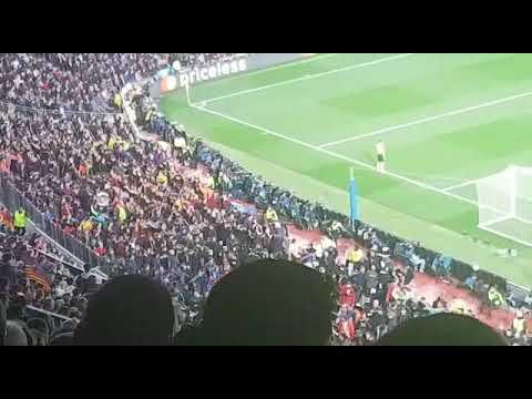 barcelona vs chelsea at camp nou stadium amazing 14/03/2018