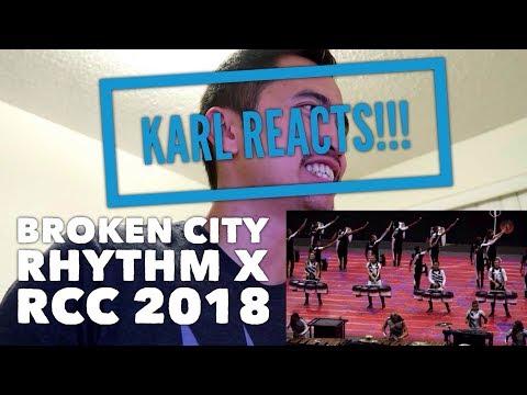 Karl REACTS To Broken City, Rhythm X & RCC At WGI Finals 2018!