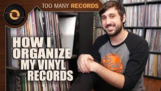 The BEST Way To Organize Vinyl Records