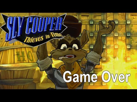 Game Over: Sly Cooper: Thieves in Time (Failure Compilation)