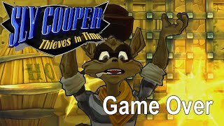 Game Over: Sly Cooper: Thieves in Time