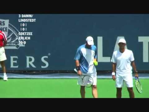 Damm & Lindstedt vs Coetzee & Erlich - Los Angeles 2009 (1 de 8)