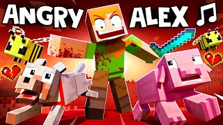 &quotANGRY ALEX&quot  VERSION A Minecraft Animation Music Video
