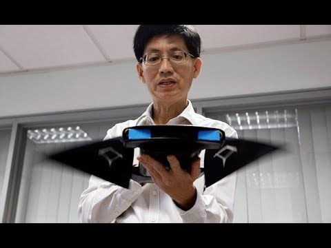Singapore researchers' underwater robot inspired by