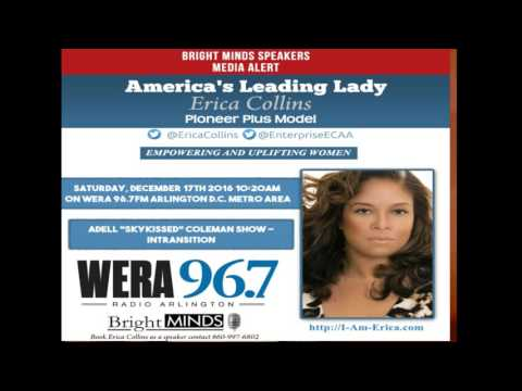 Erica Collins America's Leading Lady Pioneer Plus Model WERA 96 7FM Arlington D C  Metro