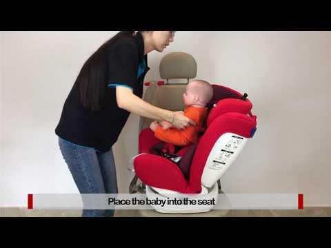 【REEBABY】Murphy 916 (ISOFIX) Baby Car Seat Installation  0-36KG     Group0+123
