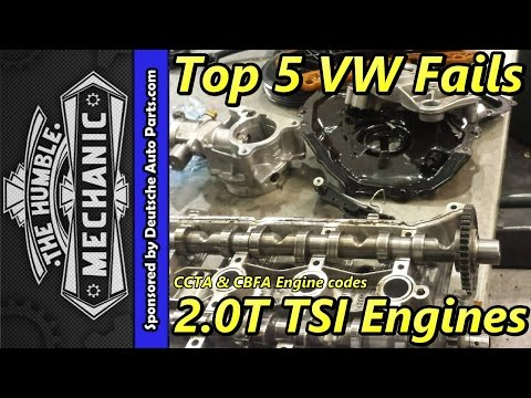 Top 5 VW Fails ~ 2.0t TSI Engine
