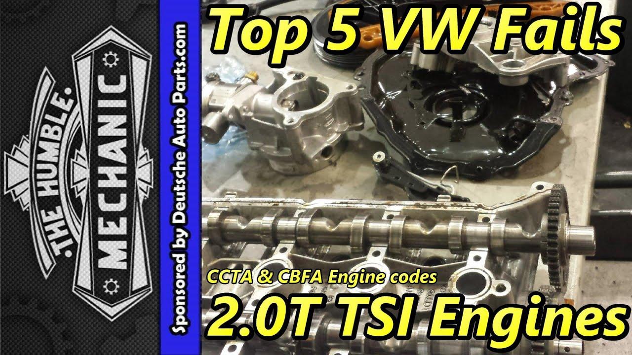 top 5 vw fails 2 0t tsi engine [ 1280 x 720 Pixel ]