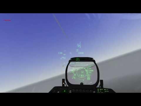 Falcon BMS 4.33 F-16 Combat Air Patrol over DMZ
