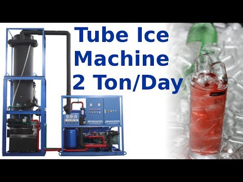 Tube Ice Machine With 2T Capacity - Focusun Refrigeration Technology