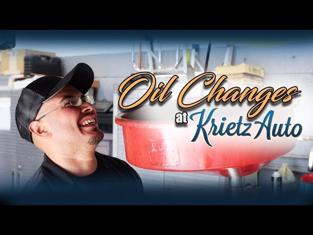 Oil Changes At Krietz Auto