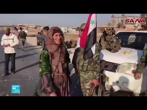 وحدات من الجيش السوري تنتشر على الحدود التركية  - نشر قبل 2 ساعة