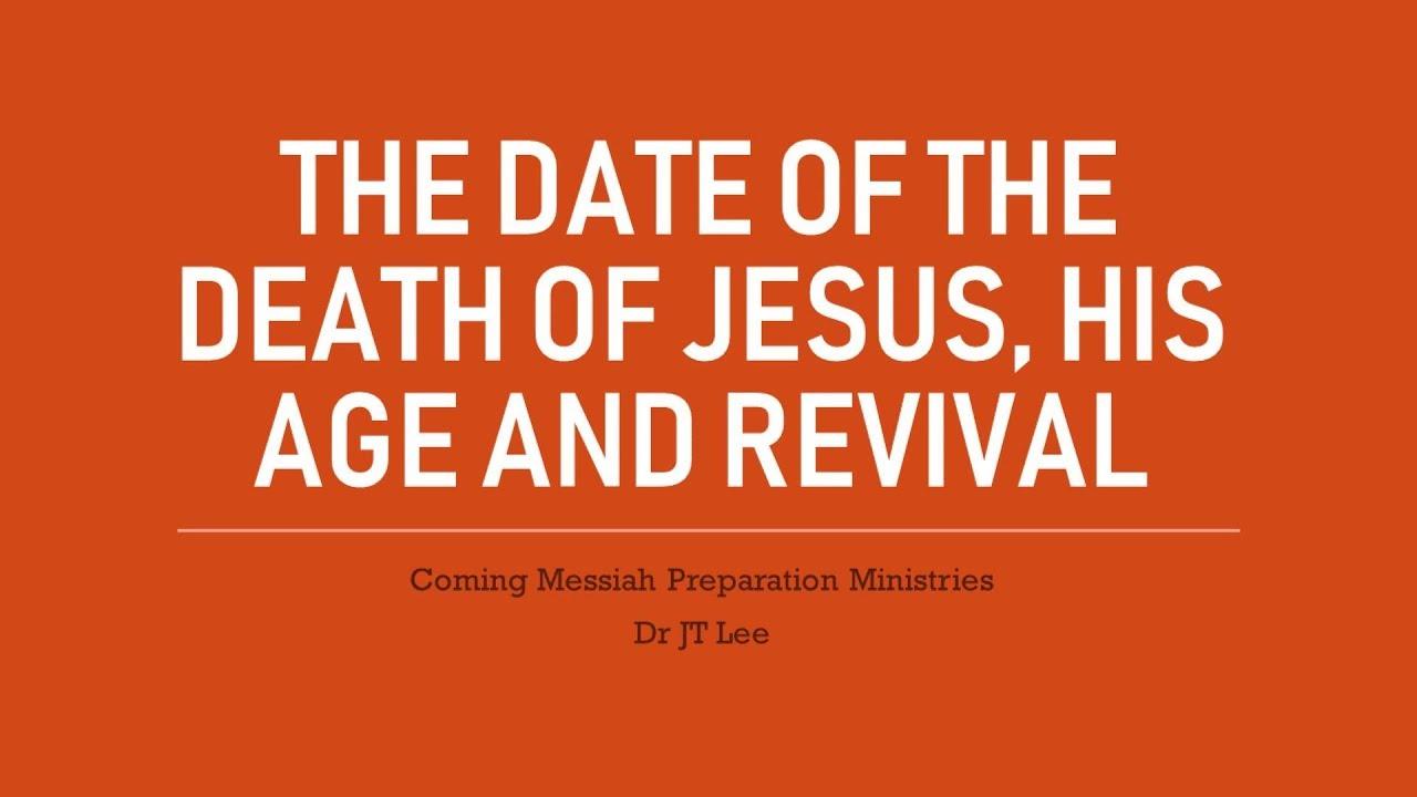 Dating jesus death