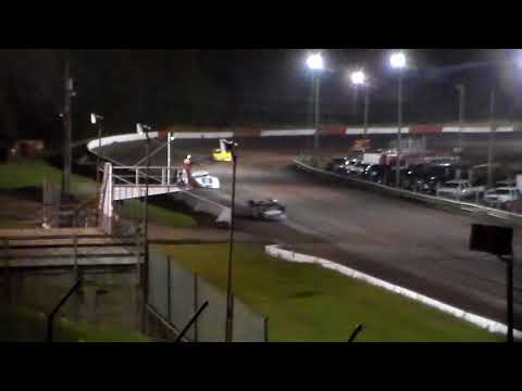 Late Model Heat 1 @ Hamilton County Speedway 09/23/17