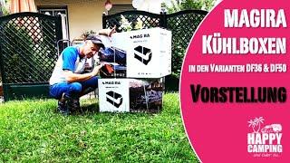 Vorstellung Review MAGIRA DF36 und DF50 Kühlbox | Happy Camping