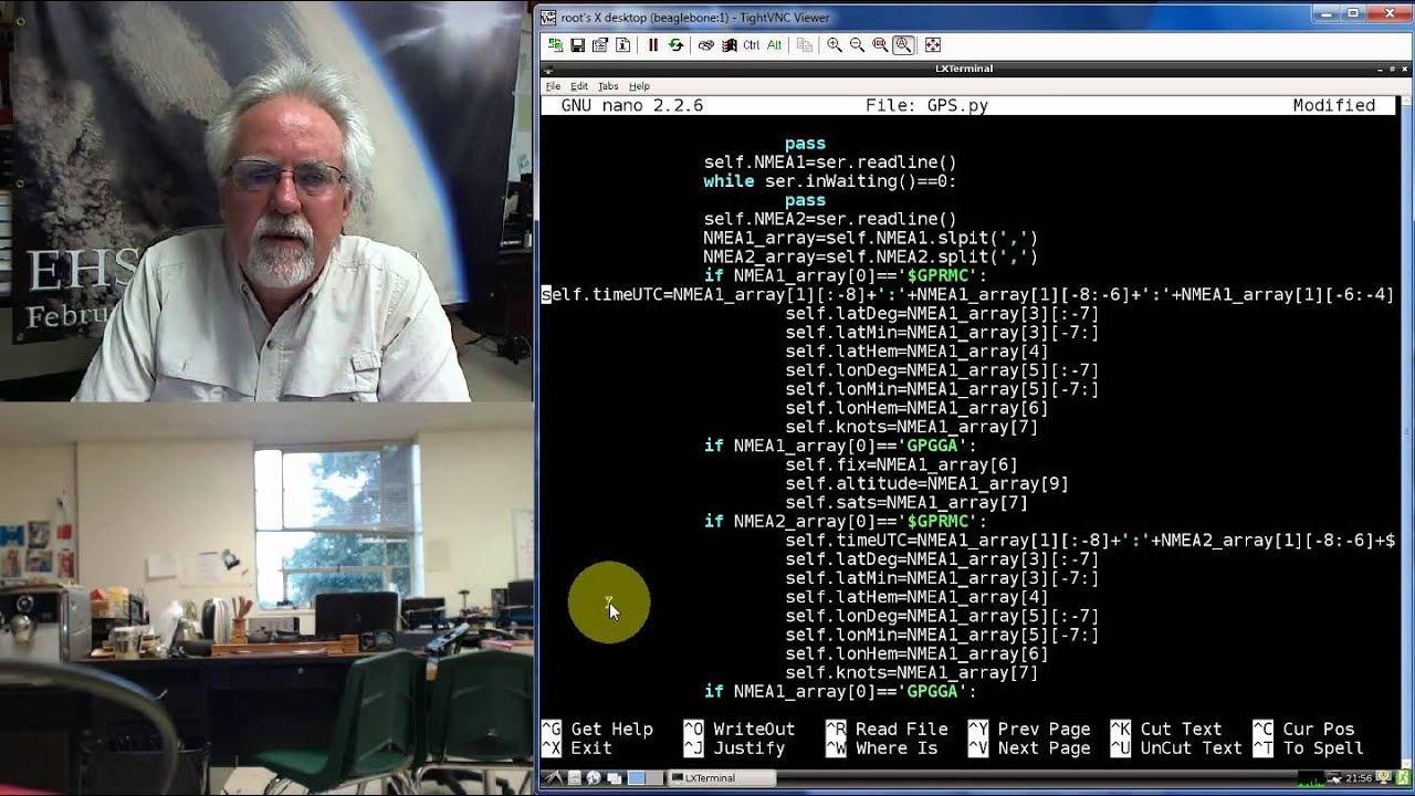 Beaglebone Black GPS Tracker LESSON 3: Parsing NMEA Sentences in Python