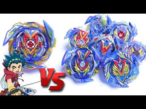 BRAVE VALKYRIE Vs ALL VALKYRIE EVOLUTION | Beyblade Burst Superking Sparking ベイブレードバースト超王