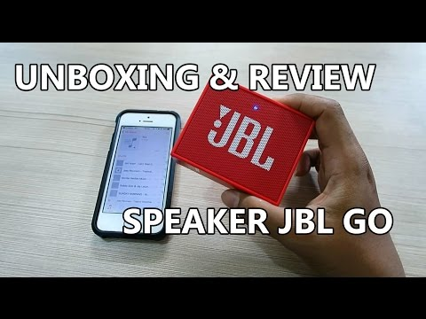 Unboxing & Review JBL Go Speaker Bluetooth Portable + Sound Test Indonesia