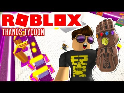 THANOS TYCOON! - Roblox Super Hero Tycoon Thanos Dansk