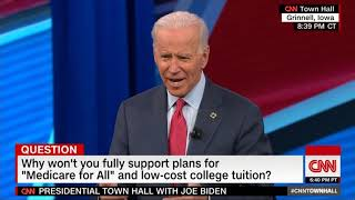 Joe Biden- Free College Tuition and Student Debt Forgiveness