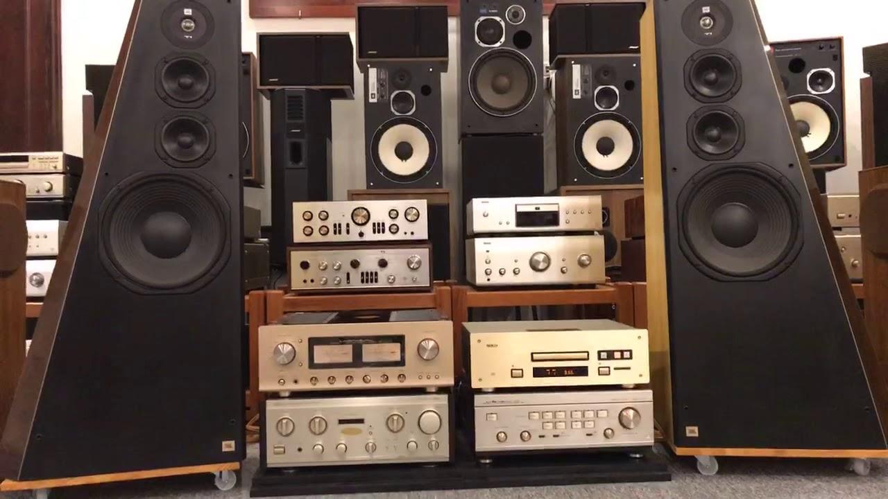 CD TEAC 10 + Amply LUXMAN L- 509s + loa JBL TI 5000  . Xin mời các cụ