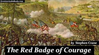 THE RED BADGE OF COURAGE by Stephen Crane FULL AudioBook new
