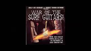 Various – ''War Of The Surf Guitars'' Neo Instrumental Rock Garage Music Bands Album Compilation LP