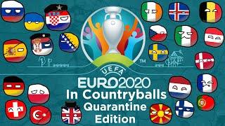 Euro 2020 in Countryballs Quarantine Edition