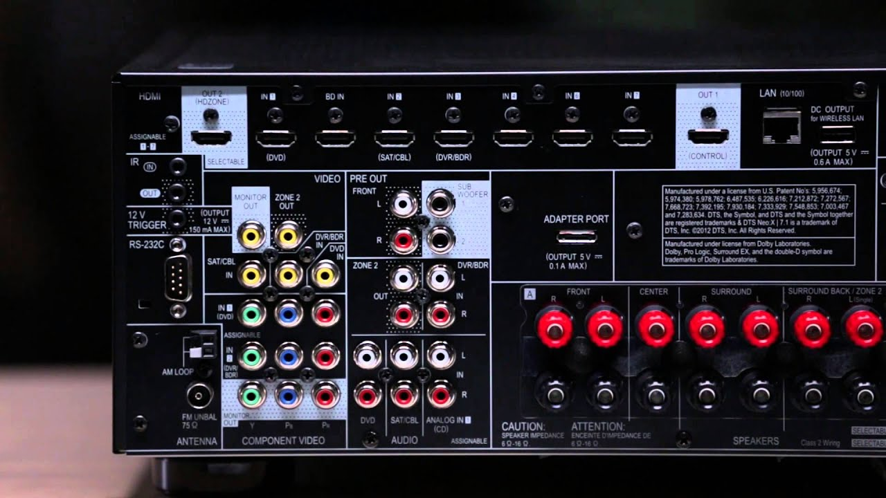 Pioneer AV Receivers: Connectivity with vTuner Internet Radio - YouTube
