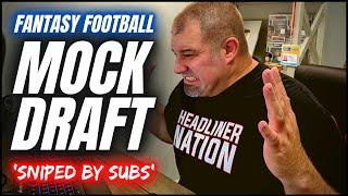 Fantasy Football Mock Draft -  Mock Drafting with Supporters - 2021 Fantasy Football Advice screenshot 4