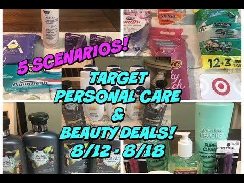 HOT TARGET DEALS 8/12 - 8/18 | 5 MUST DO Personal Care Scenarios!